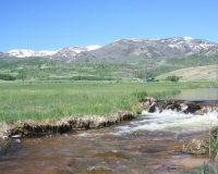 Headwaters Ranch moving water