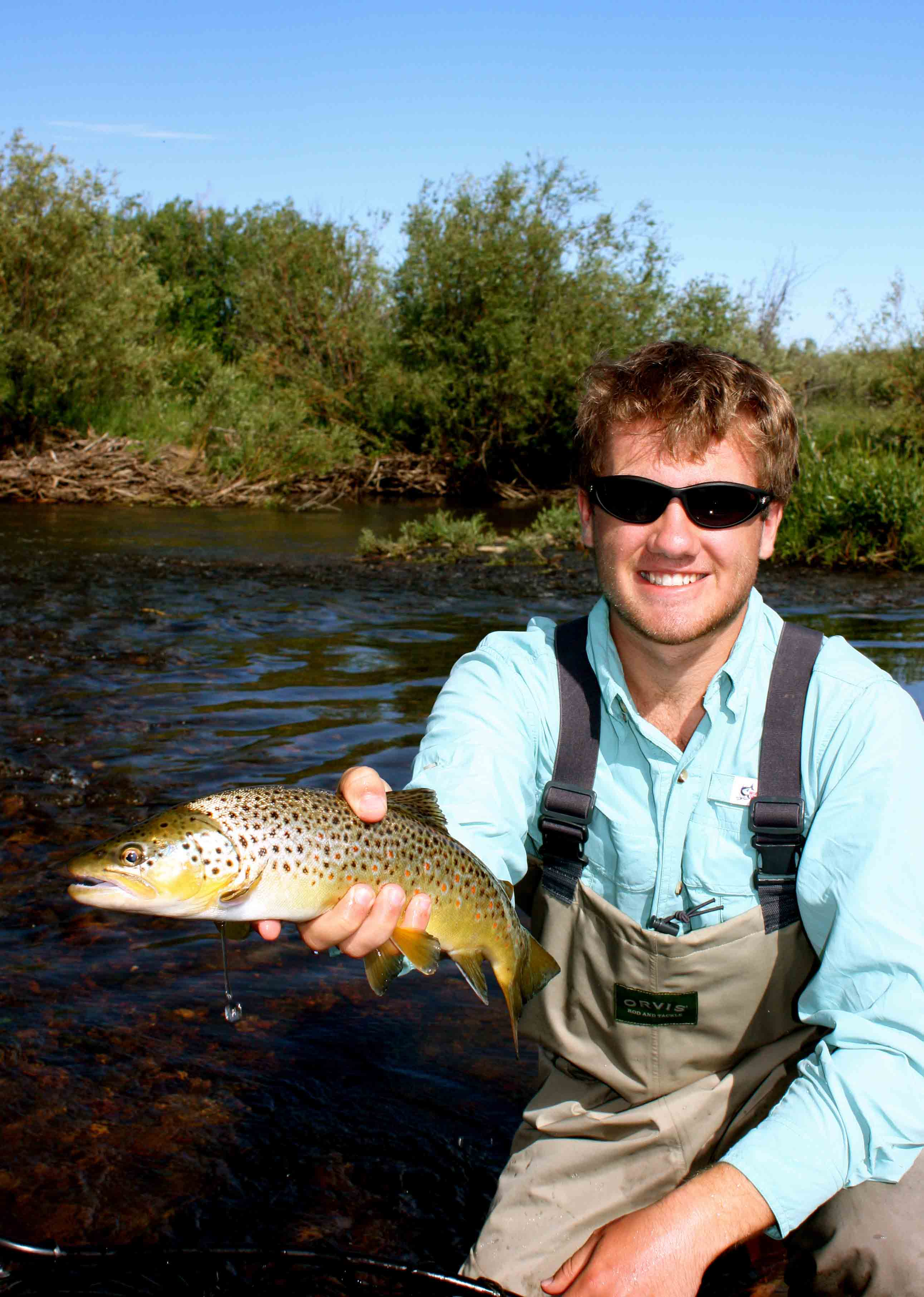 North platte river fly fishing buffalocreek for Trout fishing illinois